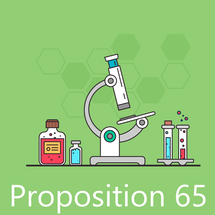 Essais Proposition 65 Californie