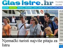 Deutsche Touristen fragen am zahlreichsten nach Istrien, QUELLE : Tageszeitung Glas Istre, Bild: Reiseleiterin Suzana