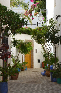 Quartier Tafellagt, à Taroudant