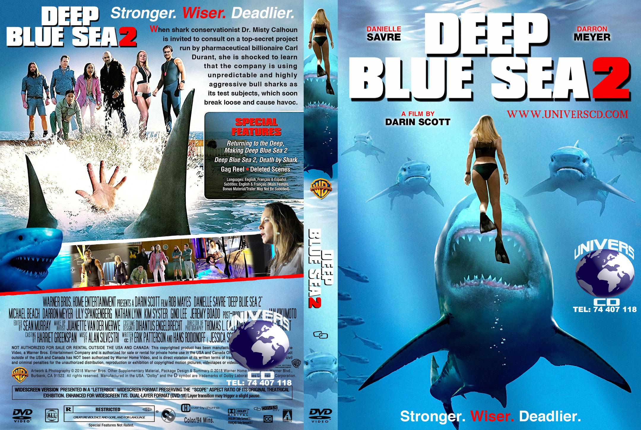 Deep Blue Sea 2 Dvd