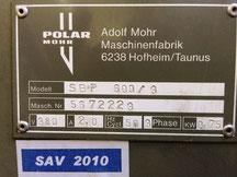 Gebrauchtmaschine Polar Luftbrettlift |  www.grunert.de
