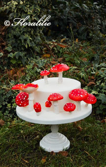 Fly Agaric Cake   Floralilie