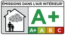 Siegel Logo Zertifizierte Emissionsklasse A+