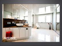 Bild Beispiel Bad mit Spanndecke CILING Produktwelt