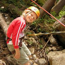 Erlebnis Klettergarten und Hochseilparcours
