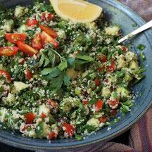 Taboulé - ein arabischer Petersiliensalat, ziemlich original!