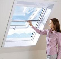 Insektenschutzrollo, Fliegenrollo für Dachfenster, Fliegengitter Frankfurt/Main