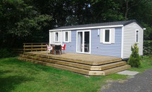 Luxe Chalets op SVR camping
