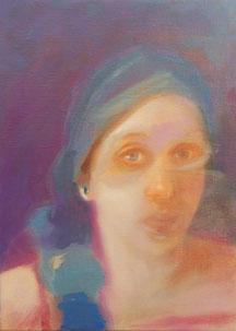 Tunnel / Oil on canvas / 33 x 24 cm