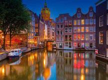 Amsterdam Städtereise mit Singer Reisen & Versicherungen.