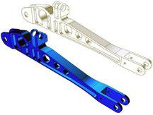 CAD - Konstruktion und Entwicklung eines innenliegendem Funktionsbauteil aus Kunststoff, gelagert im Gehäuse einer Baugruppe, spätere Herstellung per Spritzguss