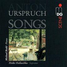 CD Lieder von Anton Urspruch