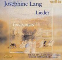 CD Lieder von Josephine Lang
