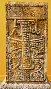 Pilier d'autel carolingien