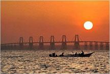 """Puente """"Rafael Urdaneta"""" sobre el Lago de Maracaibo /Edo. Zulia - Venezuela"""