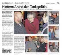Gaildorfer Rundschau vom 26.01.2013