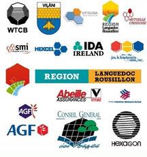 Logos avec hexagone - Cliquer pour agrandir