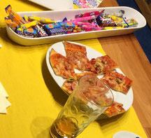 Reverse Mentoring, Pizza-Workshop, Jugendliche