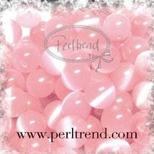 Katzenaugen-Perlen Baby Rosa