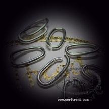 Ring offen silberfarben www.perltrend.com