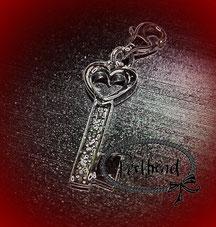 Anhänger Schmuck Silber Schlüssel