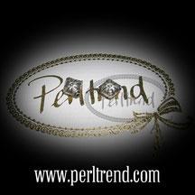 Silber Perlen viereckig www.perltrend.com