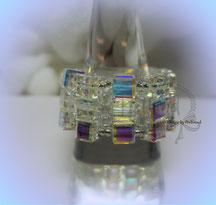 Finger Schmuck Cubes Crystal