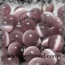 Katzenaugen-Perlen Lila