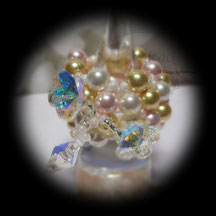 Finger Schmuck Multicolor Flower