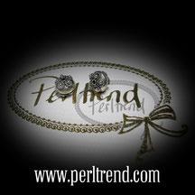 Silber Perlen Scheibe www.perltrend.com