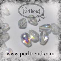 Perlen Glastropfen Crystal www.perltrend.com