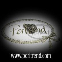 Silber Perlen Tropfen www.perltrend.com