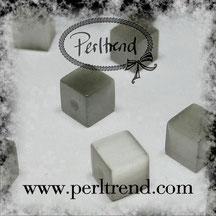 Katzenaugen-Perlen Grau