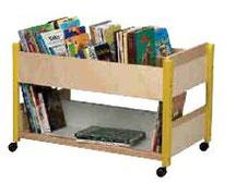 Bas à livres, mobilier pour petite enfance, assistantes maternelles à acheter pas cher.