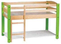 Lit combiné couchette, mobilier pour petite enfance, assistantes maternelles, RAM à acheter pas cher.