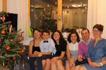 Barbara e Matthias con i loro figli