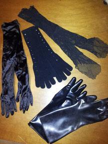 Lange Handschuhe Fr.3.50