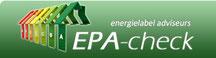 Check hier uw voorlopig EPA label
