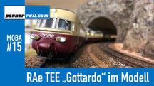 "Märklin RAe TEE ""Gottardo"" im Modell"