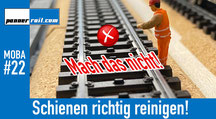 Märklin-Schienen richtig reinigen!