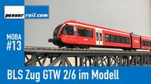 BLS GTW 2/6 im Modell (von Hag)