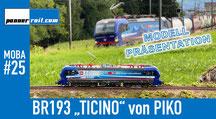 """BR193 """"Ticino"""" von PIKO, SBB Cargo International"""