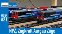 NPZ von Piko und Zugkraft Aargau von Hag Modelleisenbahnen