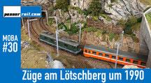 Lötschberg-Züge um 1990
