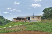 滑川 雉山の家 シンプルな木の家