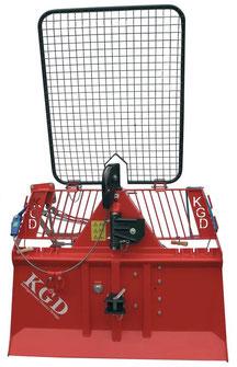 Treuil forestier KGD 450-M - mécanique