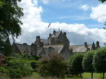 BALLINDALLOCH : Ein kleines Castle