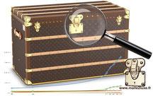 Malle Louis Vuitton neuve