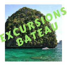 Excursions bateau phuket - guide francophone