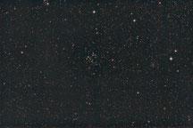 Offene Sternhaufen NGC 663, NGC 659, NGC 654, Kassiopeia